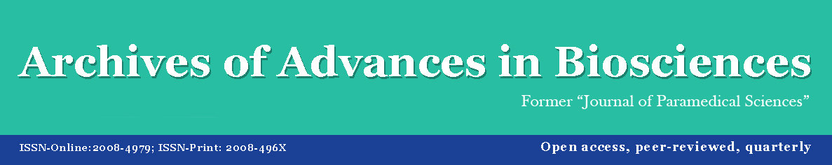 Archives of Advances in Bioscience