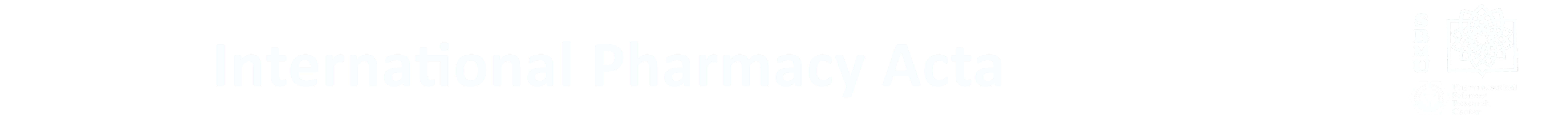 International Pharmacy Acta